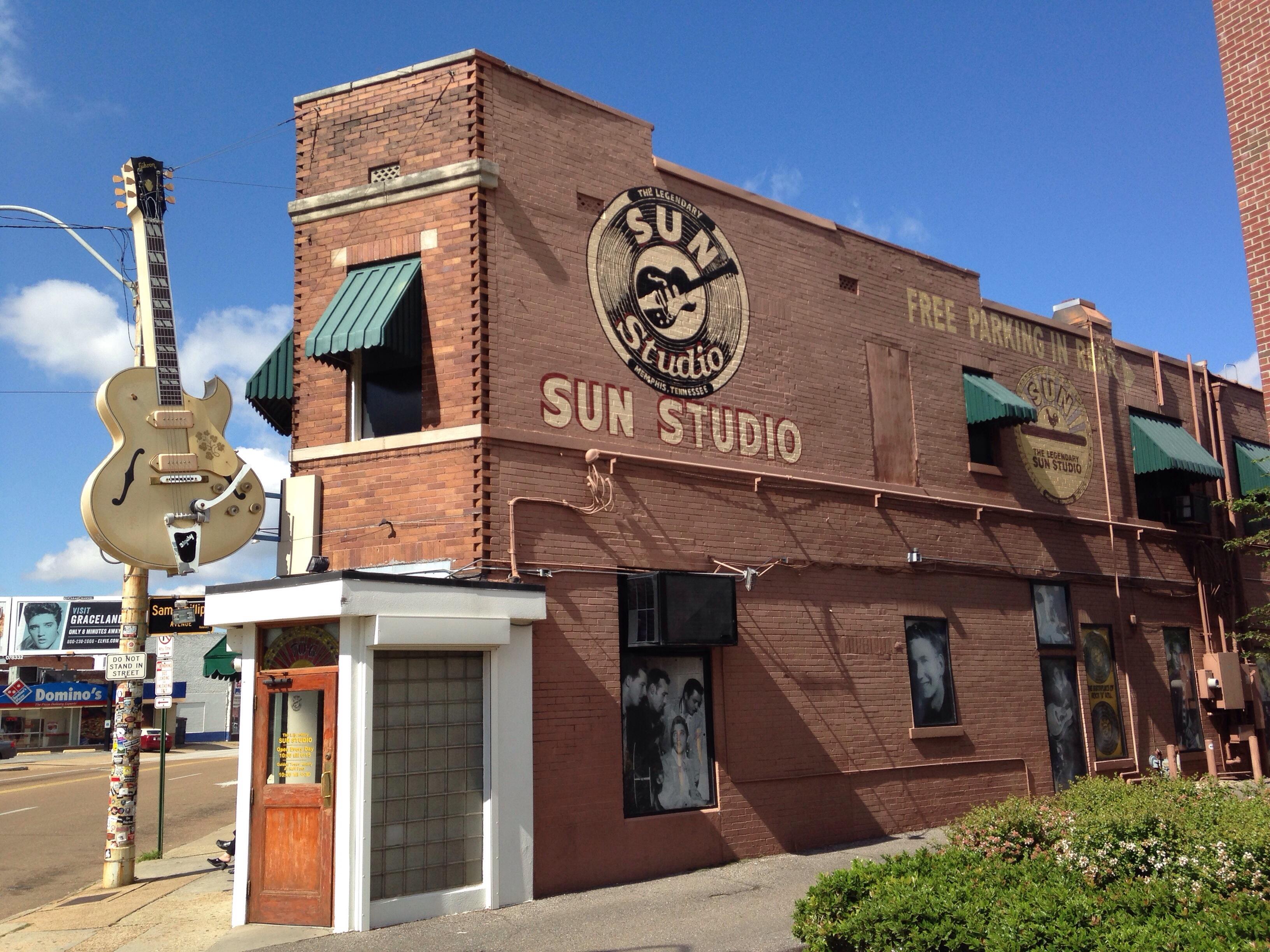 Sun Studios Memphis Tn Jim And Nancy Beletti