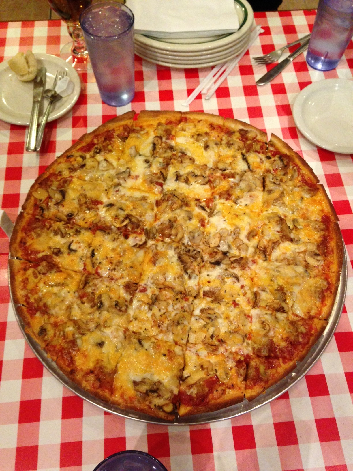 Aurelio's Pizza - Addison, IL - Pizza Pie - Dec 2013