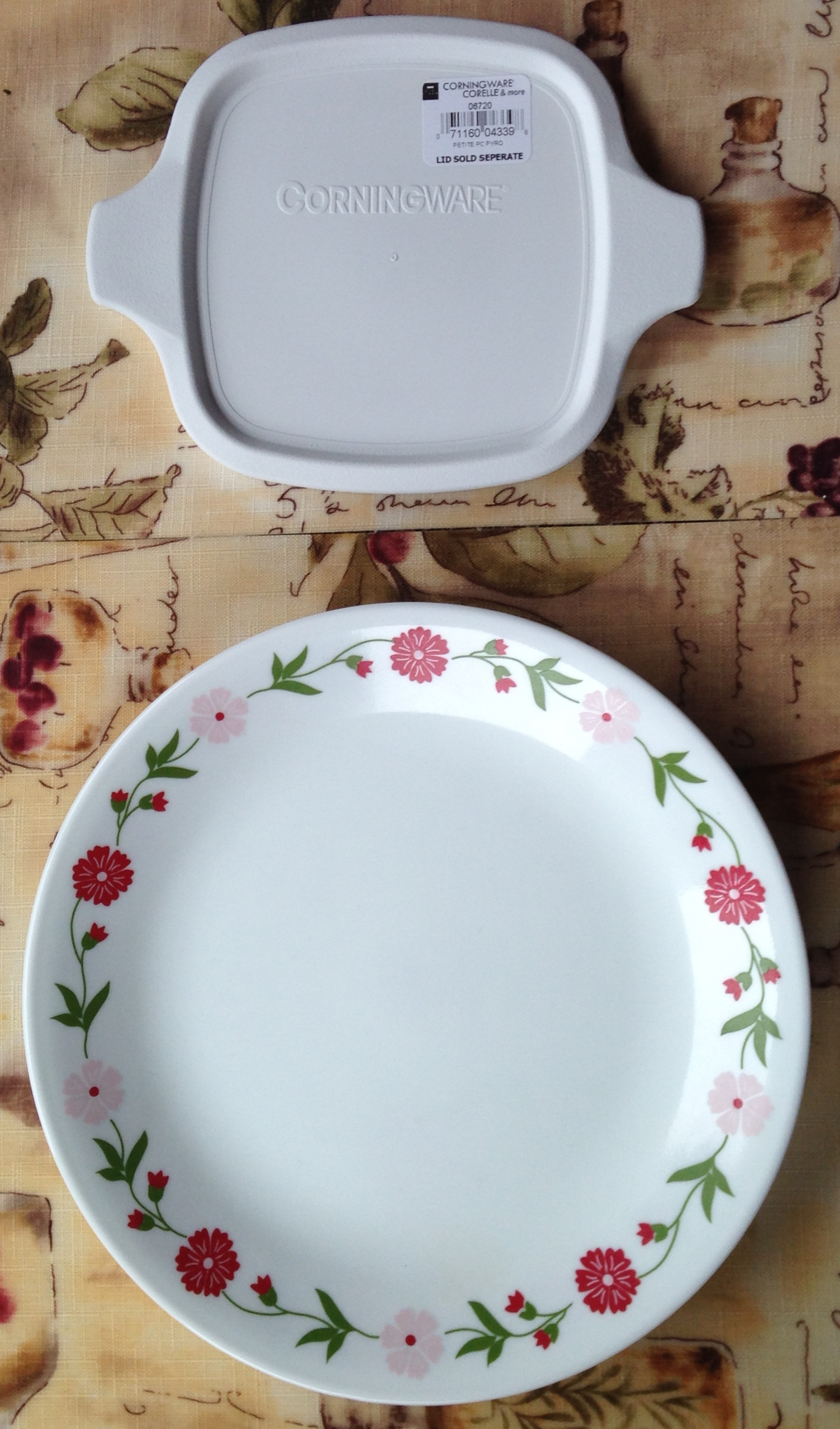 Our Corningware-Corelle Purchases - Pigeon Forge