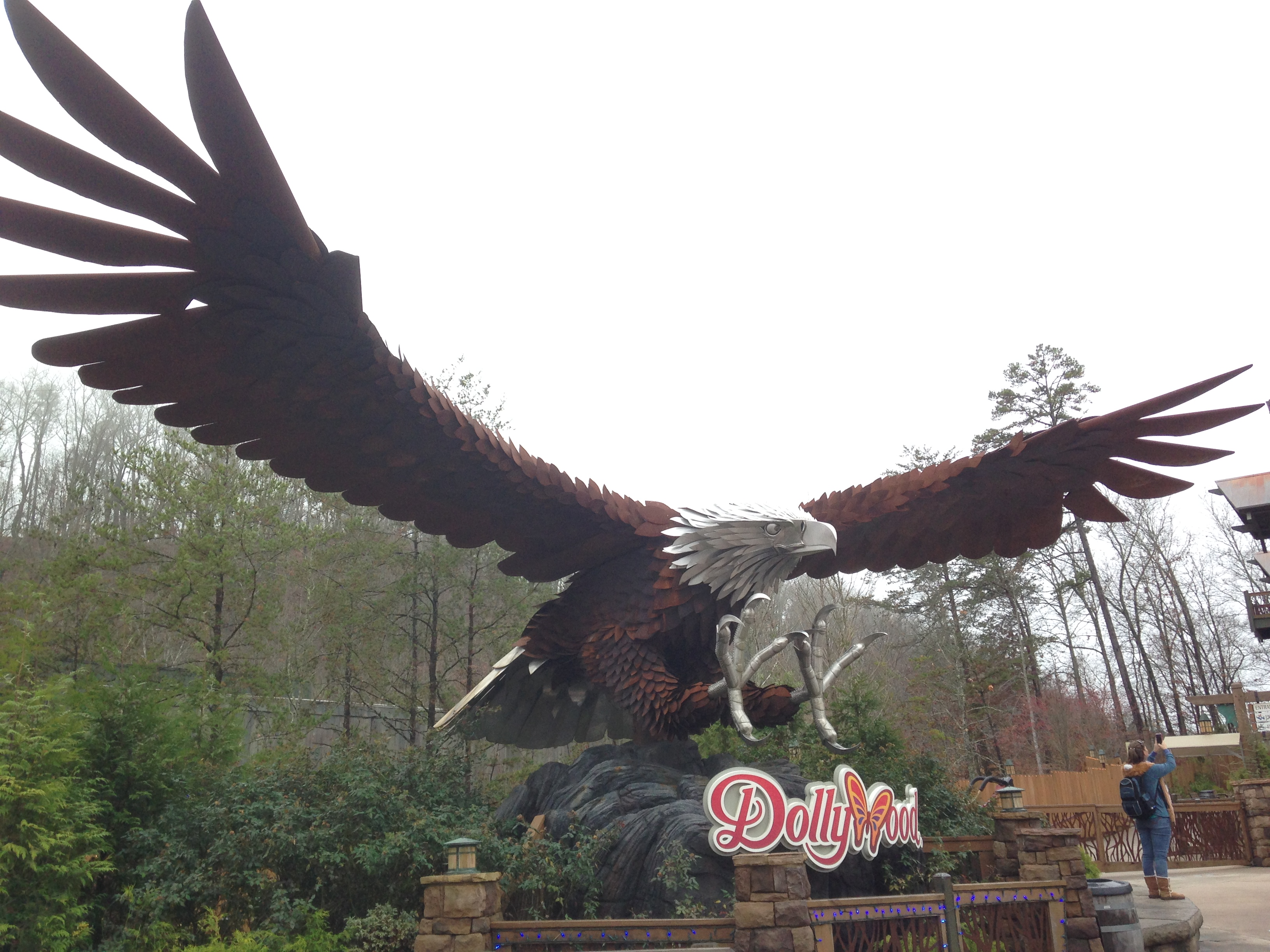 Dollywood - Wild Eagle - Pigeon Forge