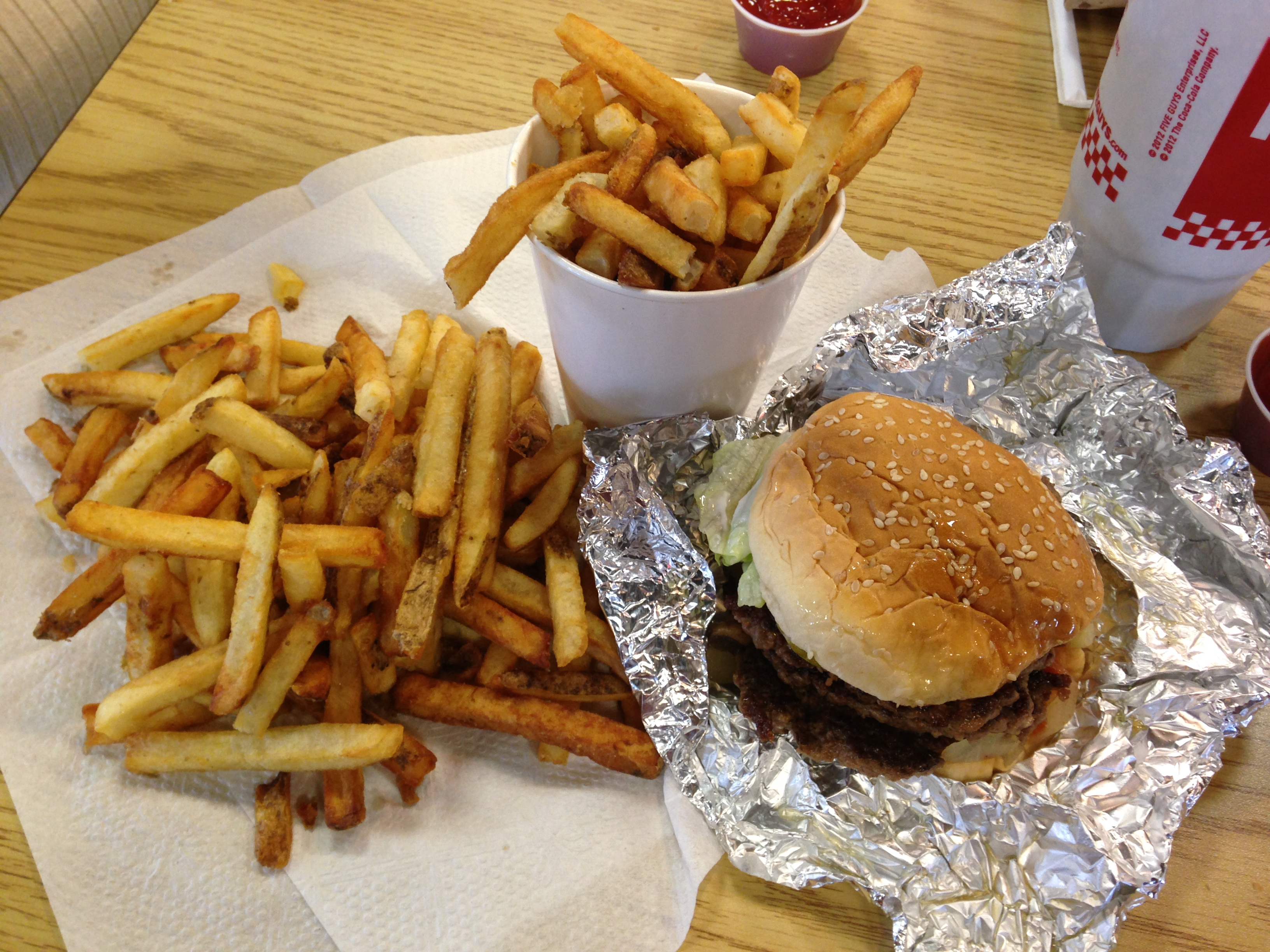 Five Guys - Our Lunch - Pigeon Forge
