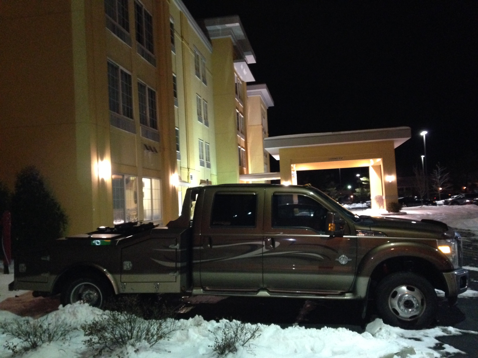 Truck at LaQuinta Inn - Columbus, IN