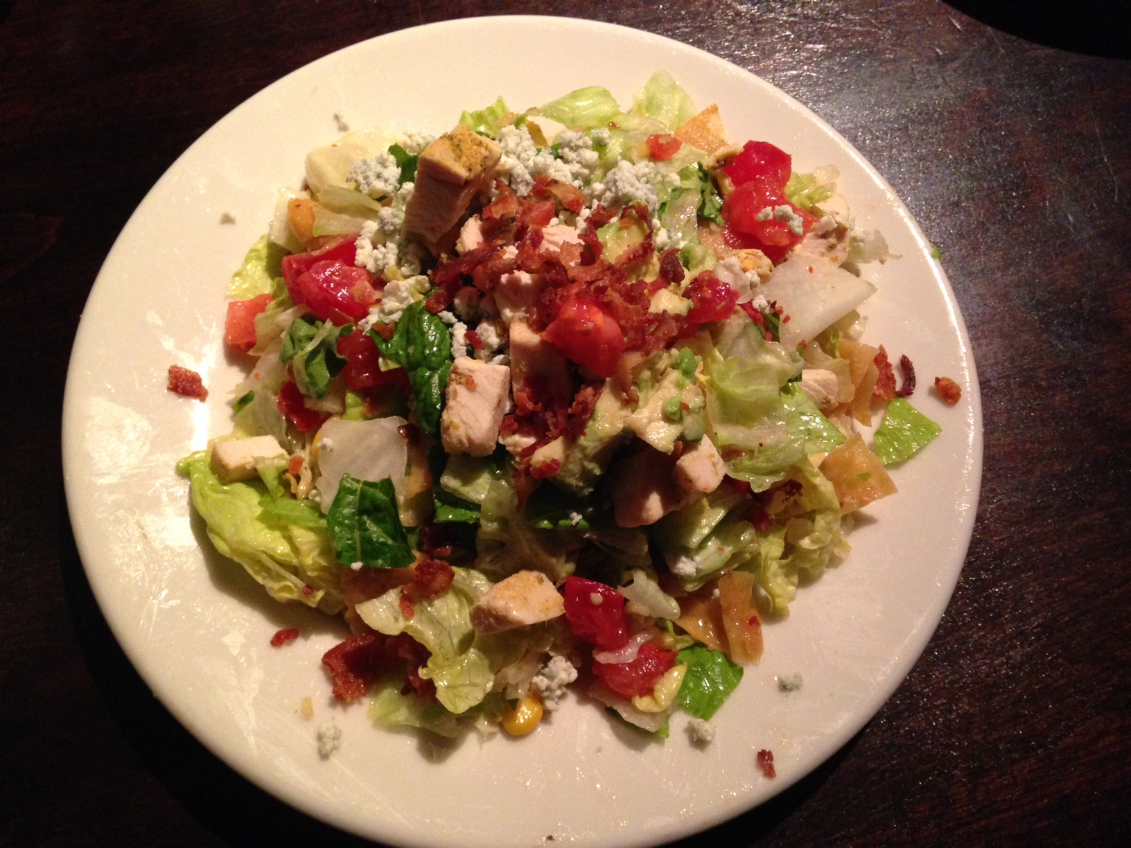 Wildfire - Oakbrook, IL - Chopped Salad - Dec 2013