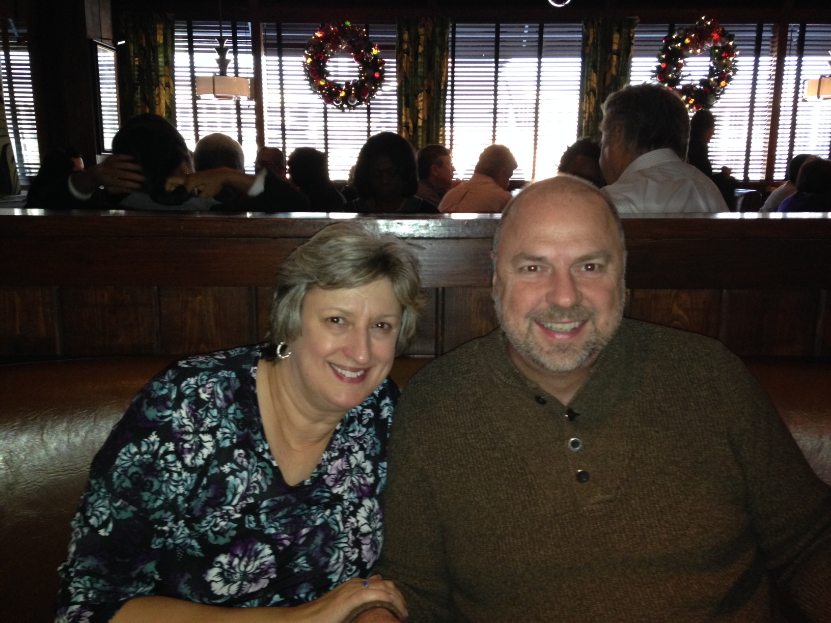 Wildfire - Oakbrook, IL - Jim and Nancy - Dec 2013