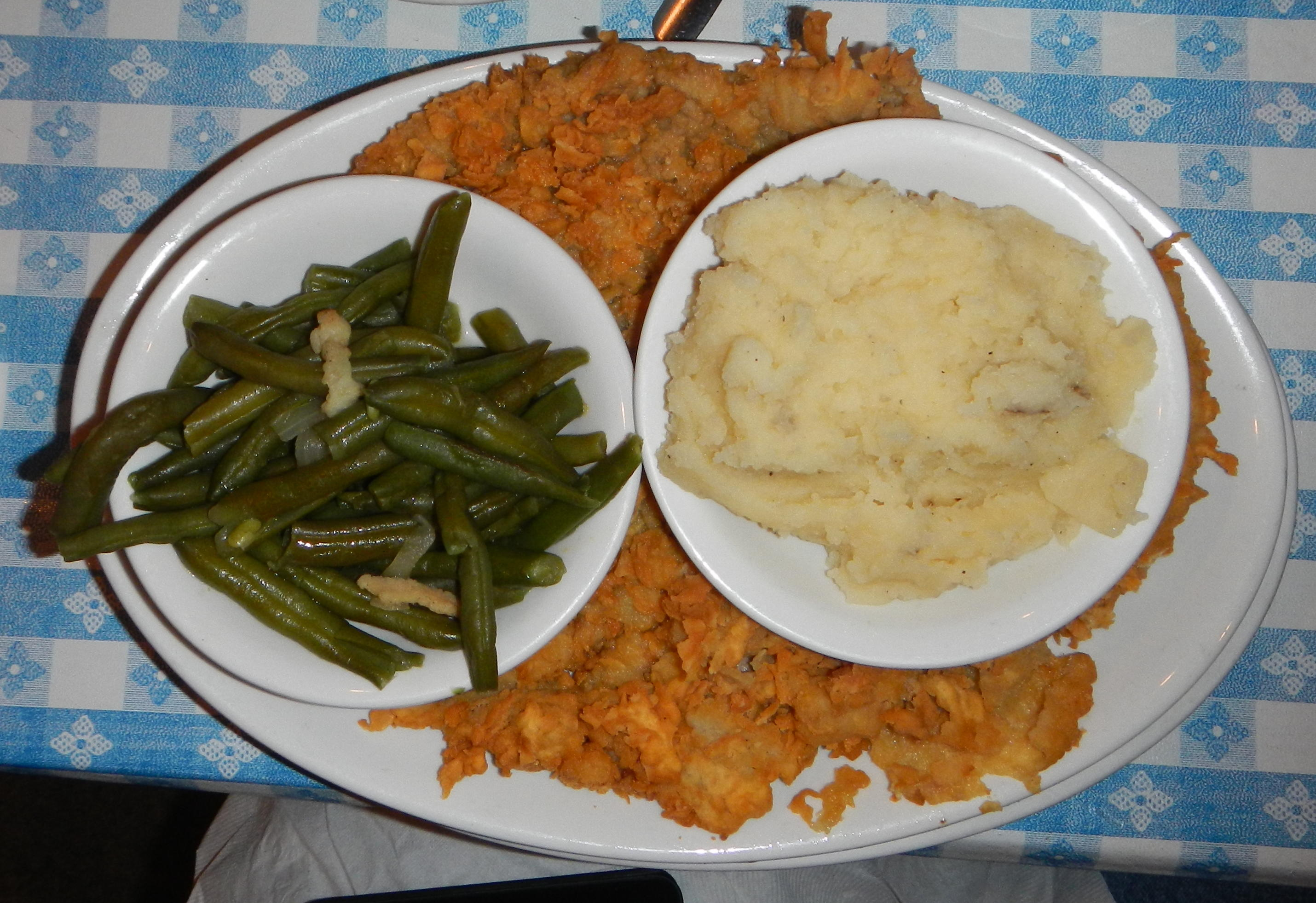 The Chicken Fried Steak at Goodson's Cafe in Tomball, TX