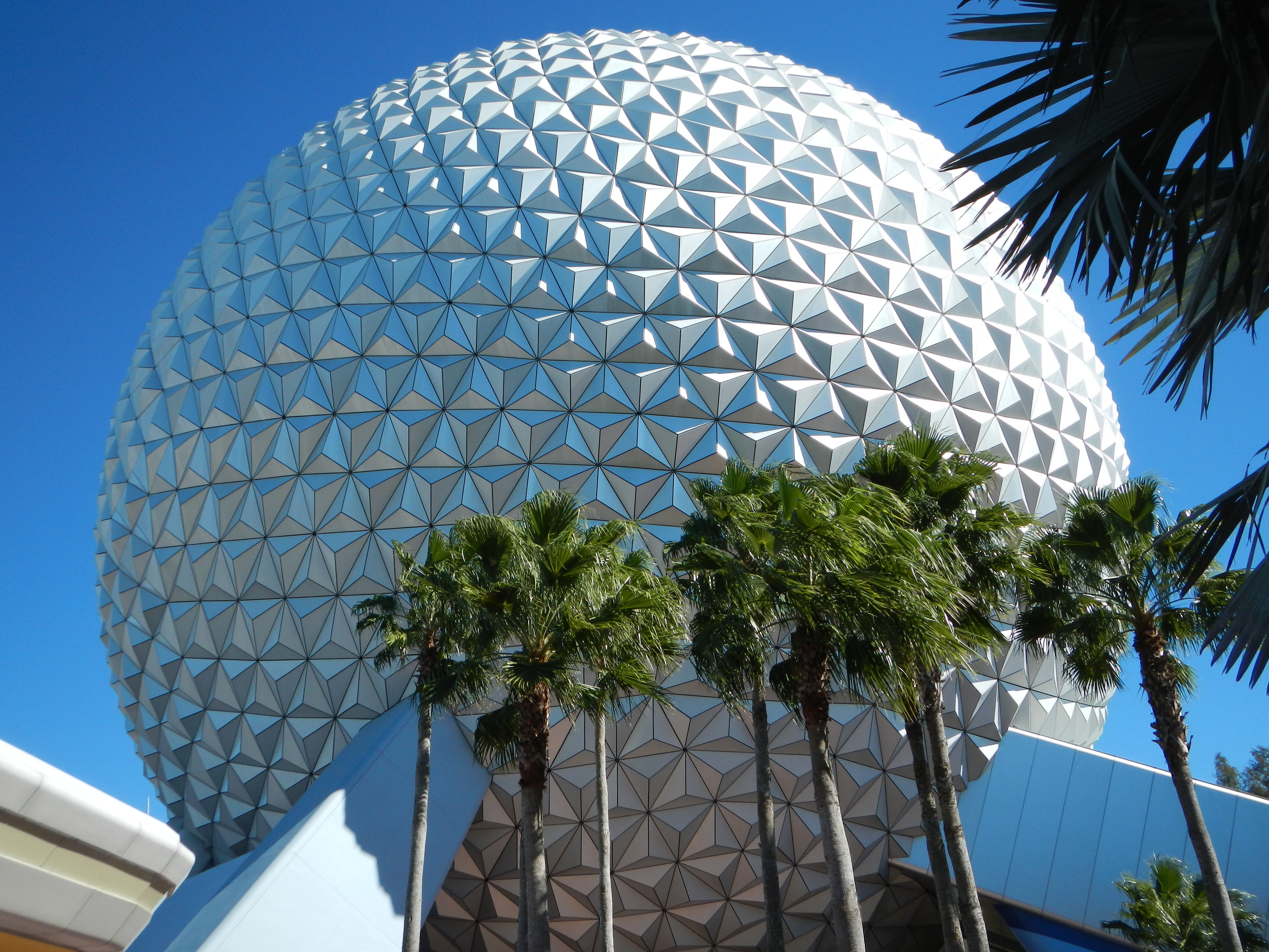 Epcot - Back of Spaceship Earth