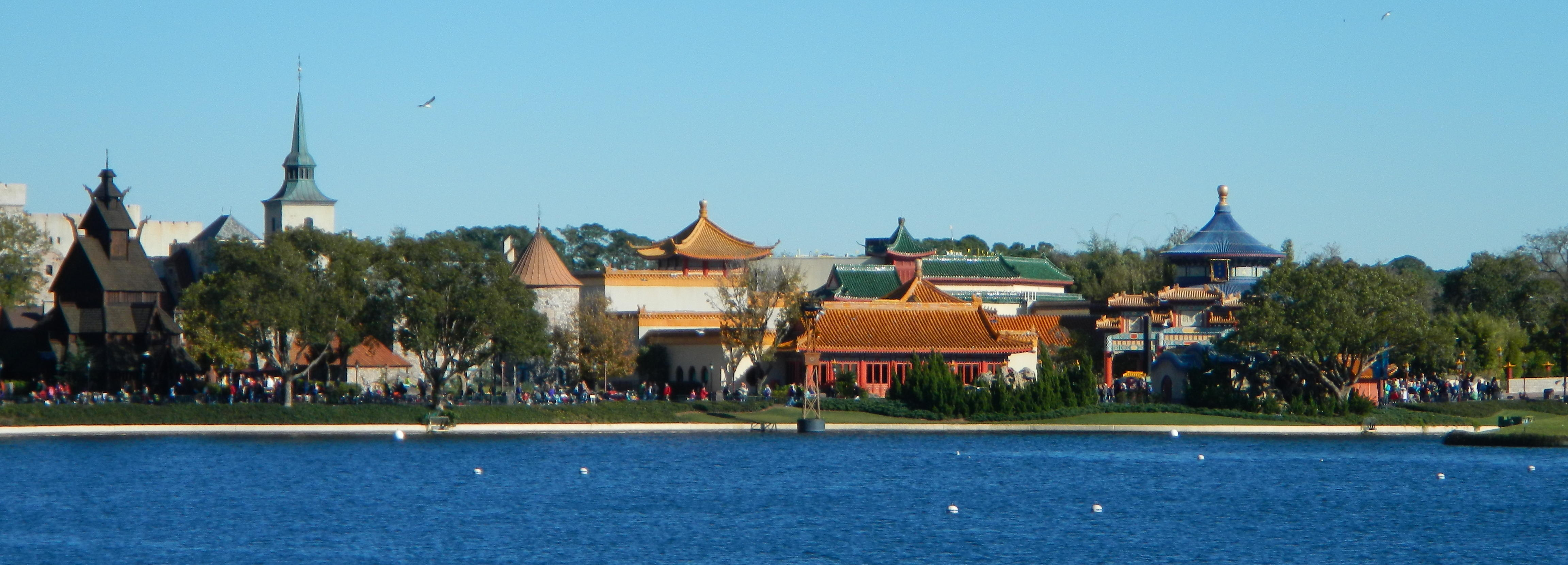 Misc - Epcot - China and Norway