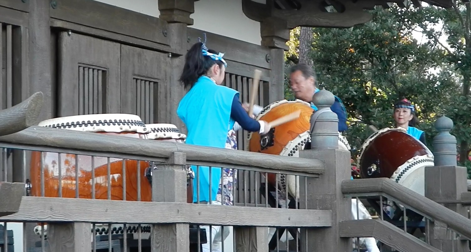 Epcot - Japan - Japanese Taiko Drummers