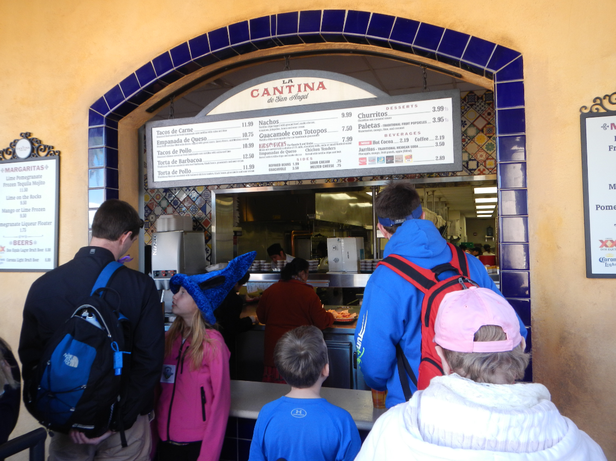 Epcot - Lunch in Mexico 2