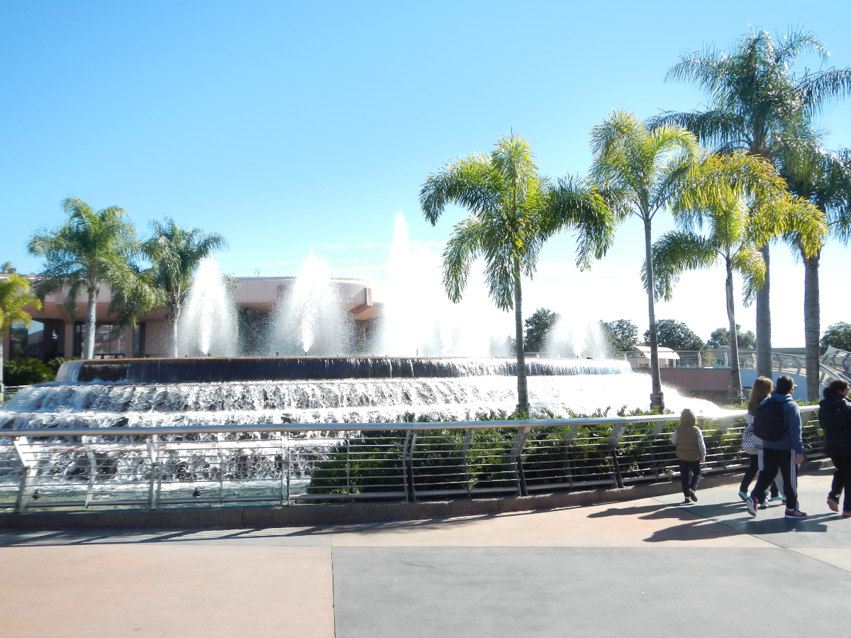 Cool fountain.