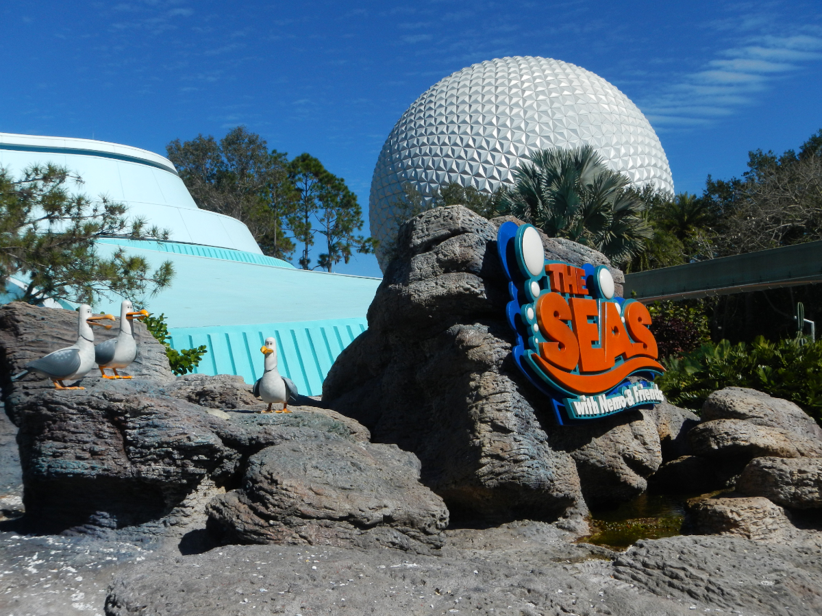 Epcot - The Seas with Nemo and Friends 2