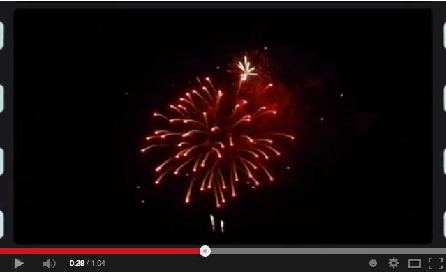 Click image to view Magic Kingdom Fireworks.
