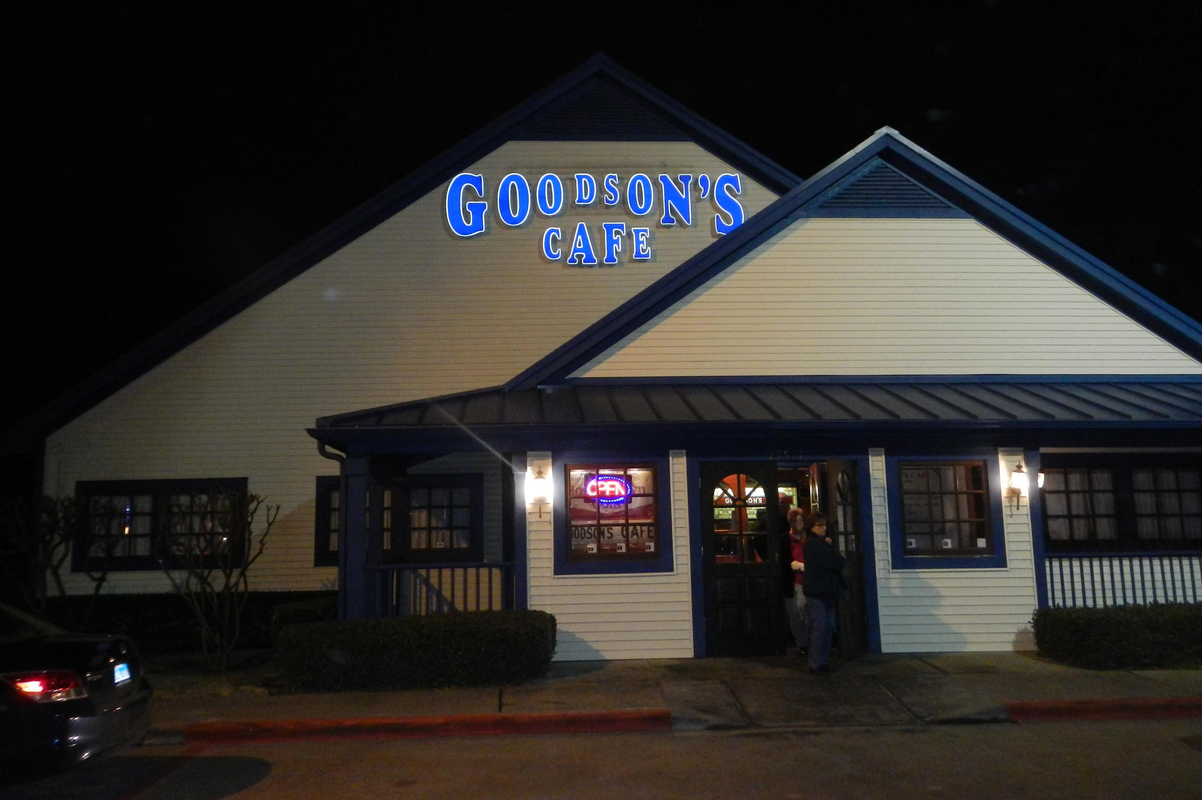 Goodson's Cafe in Tomball, TX