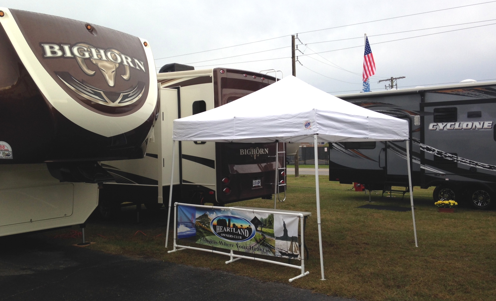 HOC Table - Tampa RV Show 2014