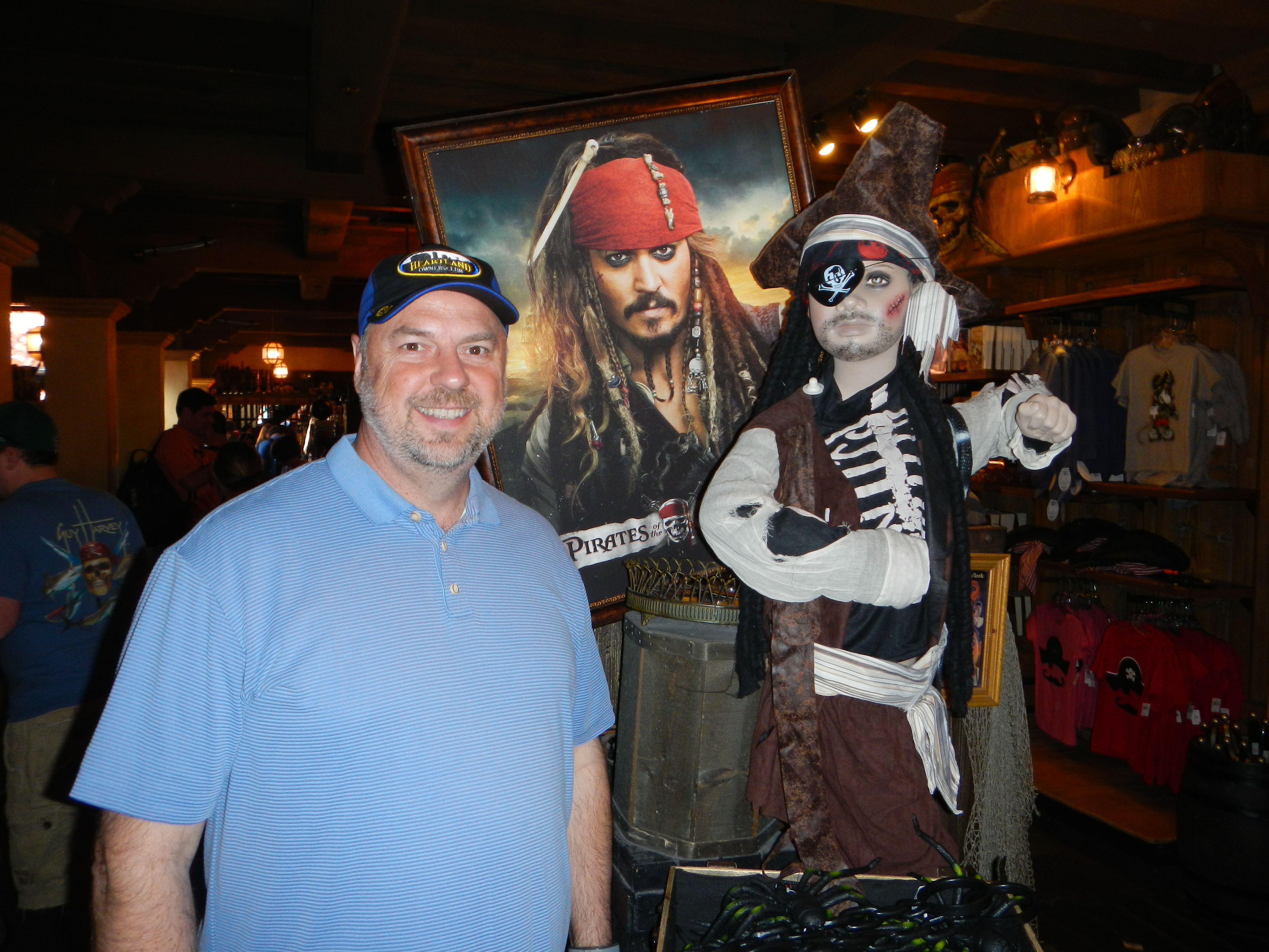 Jim at Pirates of the Caribbean