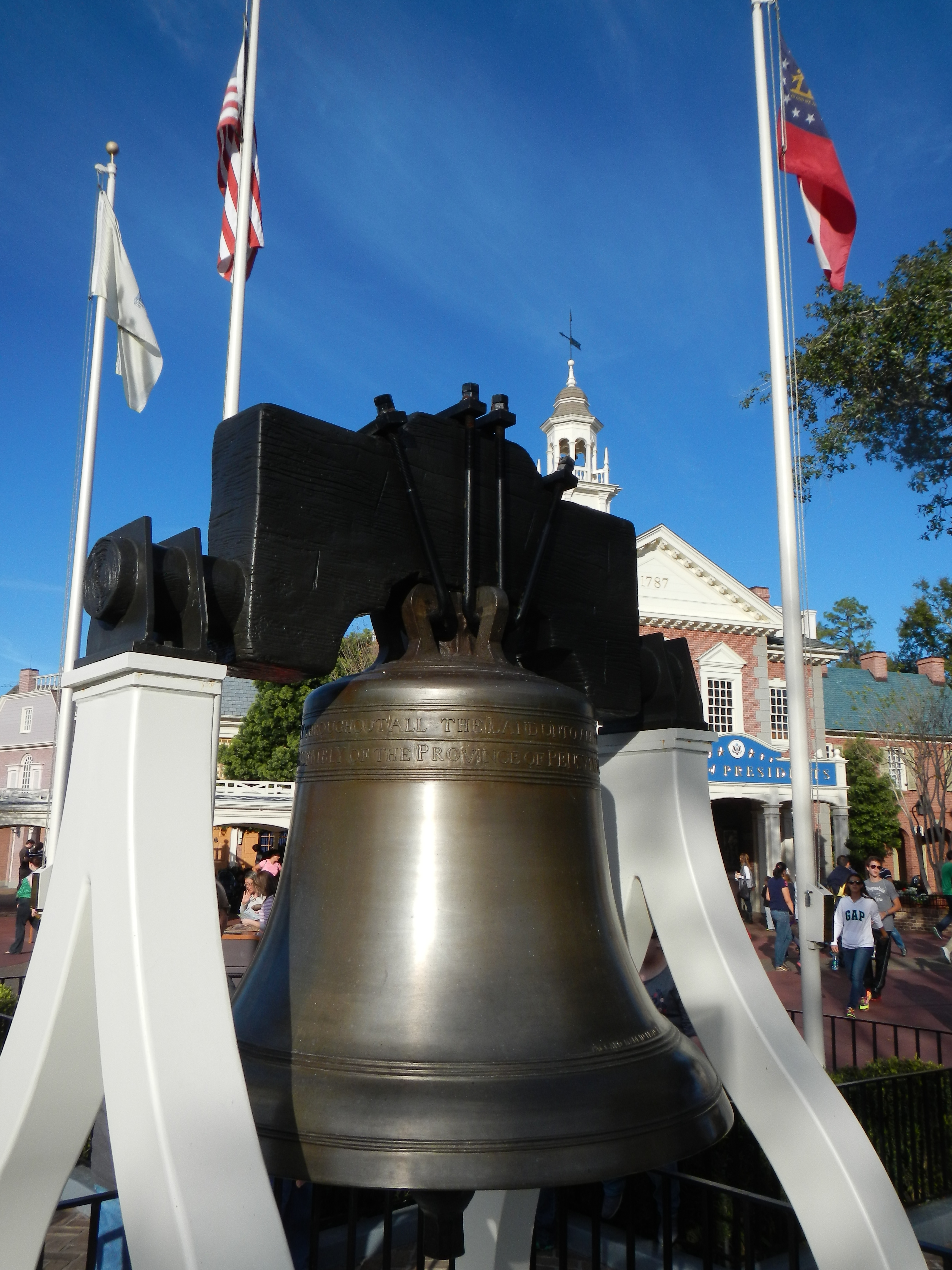 Liberty Bell in Liberty Square
