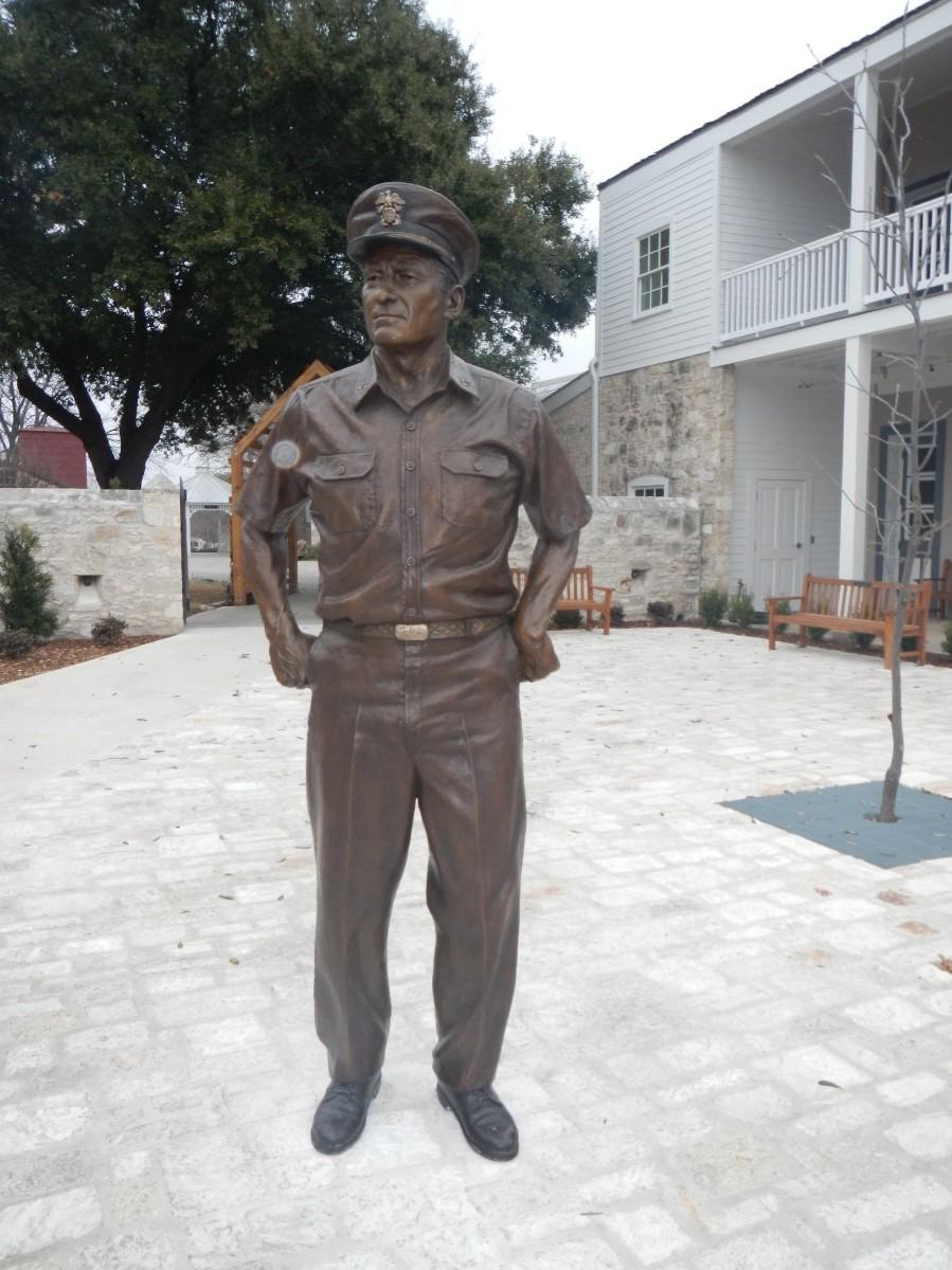 Admiral Nimitz Statue 1