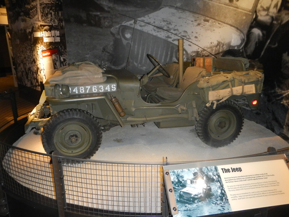 Pacific War Museum - Jeep 12