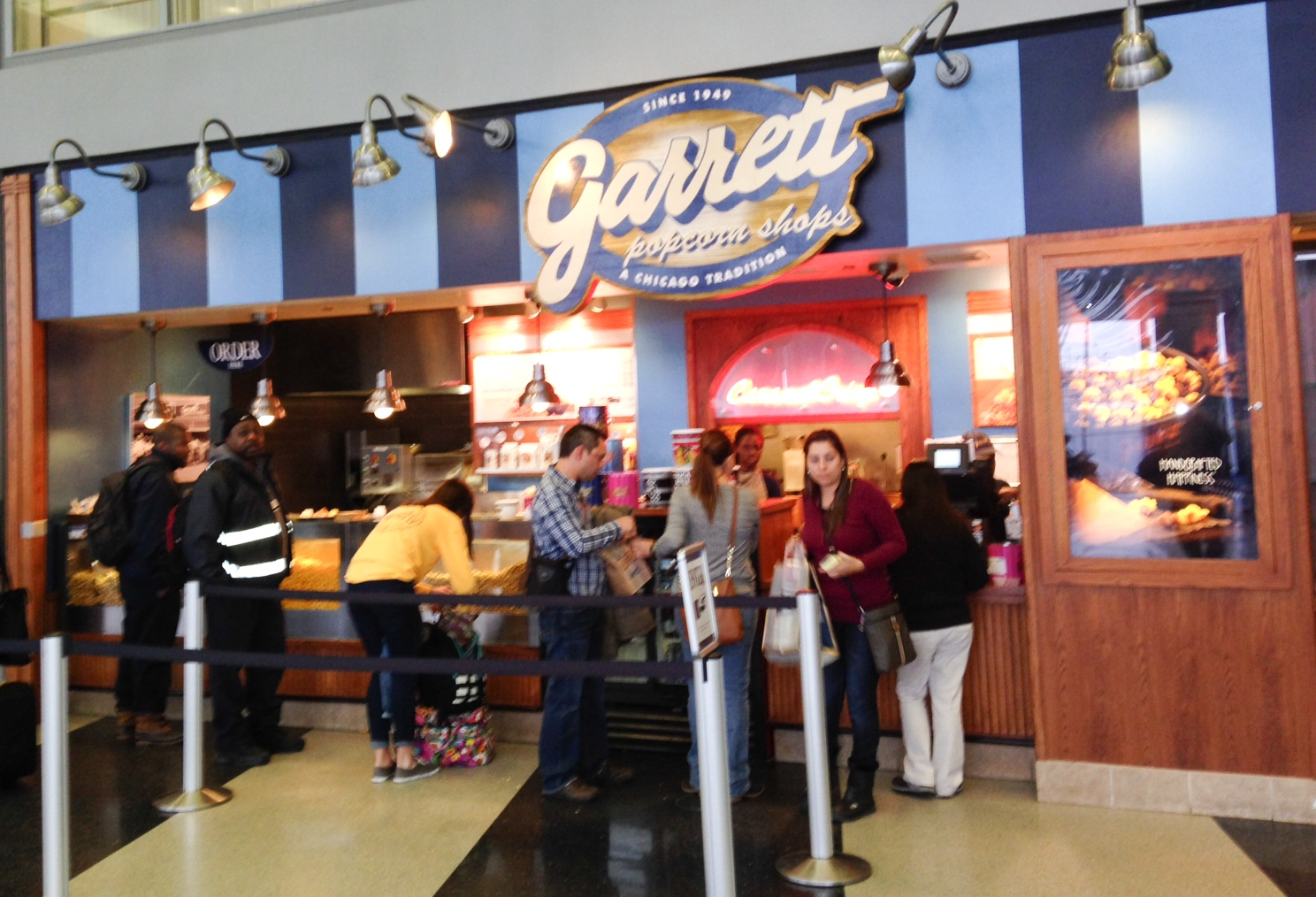 Not getting some Garrett's Popcorn is not an option!