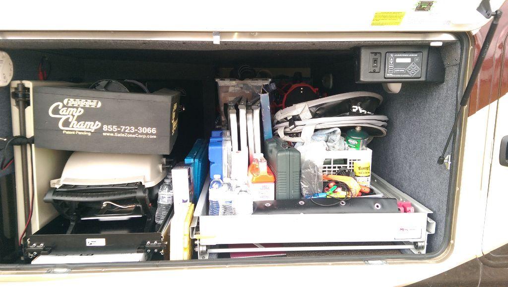 Storage Bay - Reorganized