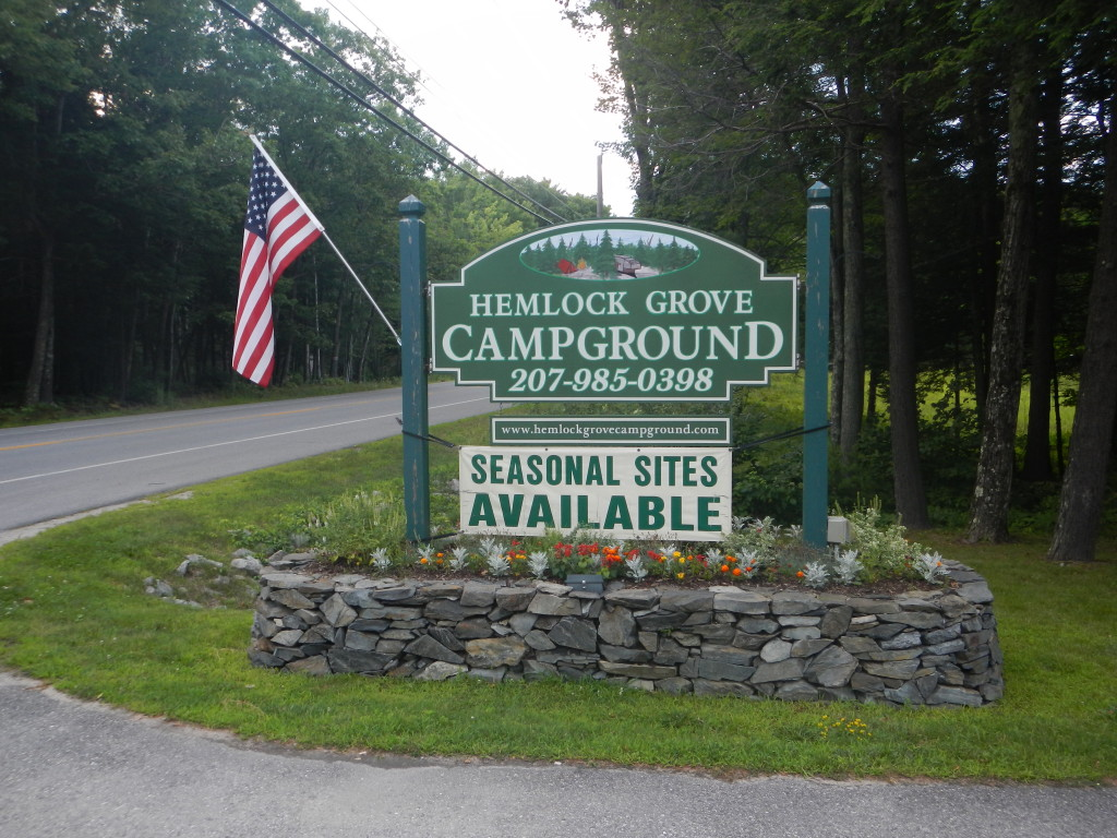 Maine - Arundel - Hemlock Grove Campground