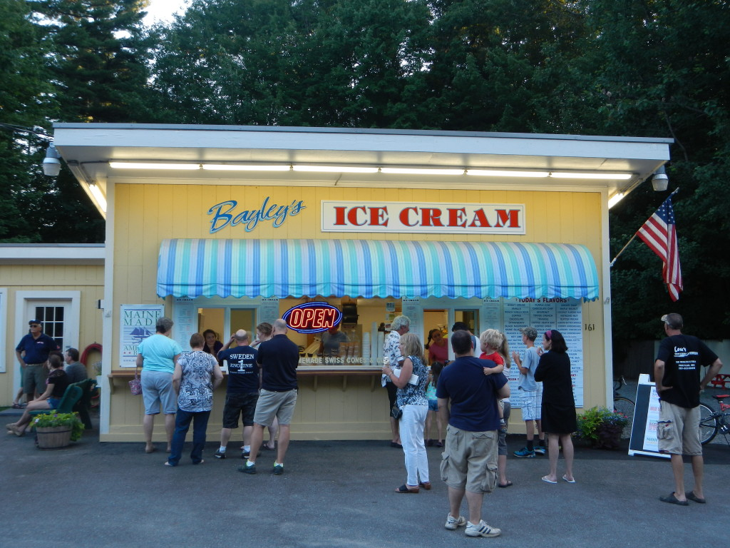 Maine - Pine Point - Bayley's Ice Cream - Store Front