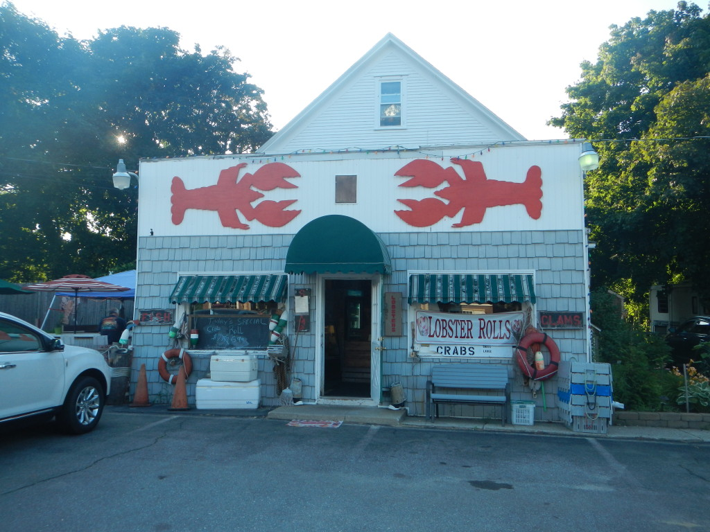 Maine - Scarborough - Scarborough Lobster.  Great steamed lobster!