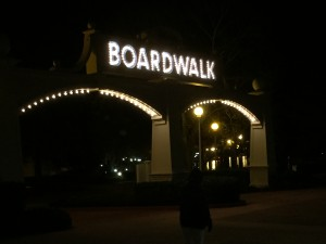 Boardwalk Entrance Sign