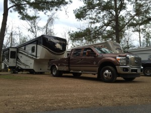Tallahassee RV park - Site 41