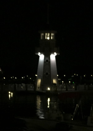 Yacht Club - Water Taxi Dock - Light House
